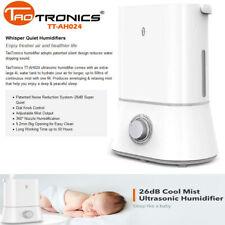 TaoTronics Ah024 Cool Mist Humidifier Quiet Ultrasonic 4L Humidifier Di14_W