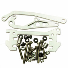 Chassis Mounted Servo Kit With Panhard Link for Axial SCX10 RC Crawler Silver