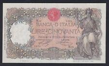 Italia / Italy - 50 lire Buoi 28.12.1916 qSPL/XF-  S-01