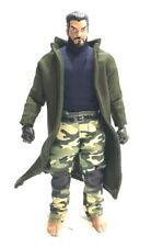 SU-LTC-GR: 1/12 Green Wired Trench Coat for Mezco, Marvel Legends (No Figure)