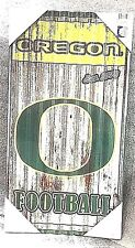 Oregon Ducks Corrugated Metal Wall Art - NCAA