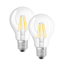 OSRAM 2er Pack 7-W-Filament-LED-Lampen, E27, warmweiß