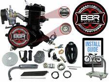 80cc Flying Horse Bicycle Engine Kit Motorized Bike Gas Black 2 Stroke 66cc New