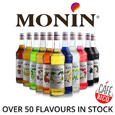 Monin Syrup for Coffee & Drinks. As used by Costa & Starbucks. Drink Syrups