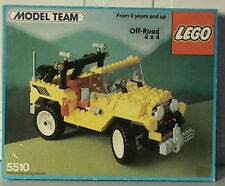 NEW Lego Model Team 5510 Off-Road 4x4 - Sealed Jeep 1986'