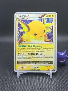 Pokemon - Raichu Lv.x 99/100 Holo Rare D&P Stormfront Light Play