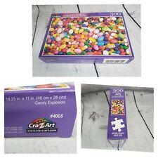 Cra Z Art Puzzlebug Candy Explosion 300 Piece Puzzle Kids Activity Brain Teaser