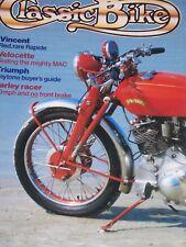 Classic Bike 10/84 Buying Second Hand-Triumph Daytona 500, Red Vincent, Velo MAC