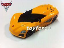 Mattel Disney Pixar Cars Fabrizio Lamborghini Diecast Toy Car 1:55 Loose New