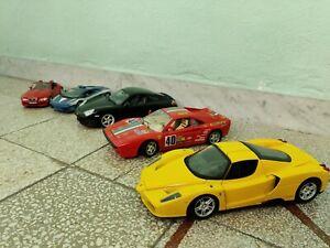 Set Modellini Bburago Burago Hotwheels Maisto Ferrari Lamborghini Porsche BMW