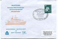 1982 Polarstern ABLIEFERUNG Rendsburg Polar Antarctic Cover