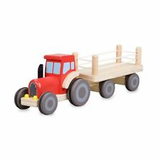 Brand New Classic World Haulauge Tractor & Trailor Boys Wooden