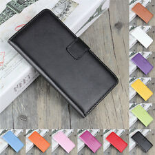 Genuine Leather Wallet Flip Case Cover For Samsung A3 A5 A7 A6 A8 J3 J5 J7 2018