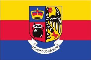 Flagge Nordfriesland mit Wappen 110 g/m² ca. 60 x 90 cm