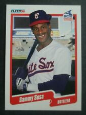1990 Fleer CANADIAN #548 SAMMY SOSA Rookie MINT Cubs White Sox LONG GONE SUMMER