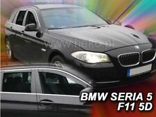 4 Deflettori Aria Antiturbo BMW seria 5 F11 2010-2017 4 porte