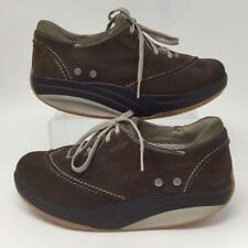 MBT Barbara Brown Suede Shoes 400066-13 Womens Size 8