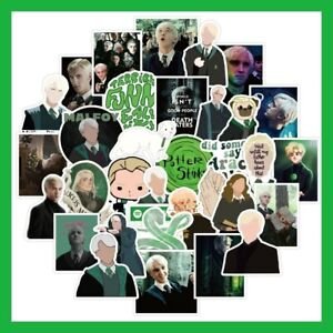 50 Pieces Harry Potter Draco Malfoy Graffiti Stickers For Laptop Fridge Desk Car