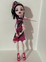 Draculaura Frights Camera Action Monster High Doll