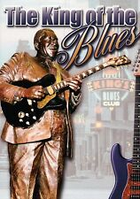 BB King Statue King of the Blues, Beale Street Memphis Tennessee Guitar Postcard