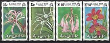 ANGUILLA:1988 SC#754-57(4) MNH Easter (Lilies)