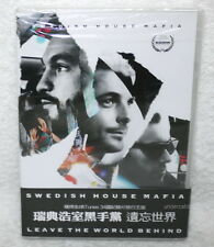 SWEDISH HOUSE MAFIA LEAVE THE WORLD BEHIND Taiwan DVD w/OBI