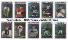 Carte collezionabili baseball Topps Chrome