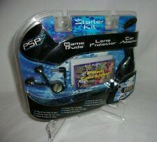 ✅New PSP Intec Starter Kit Bud Headphones, Lens Protector, Car Adaptor FREE SHIP