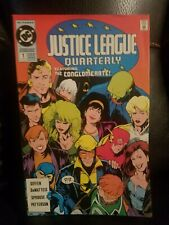 New listing Justice League Quarterly 1, 2,3,4,5,6,7,8,9,10,11, 12 great run. (1990-91 Dc)