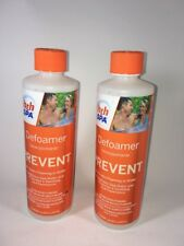 2 Pack Of Hth SPA Defoamer - Prevent - 16 Oz. (Eliminates Foaming In Water)