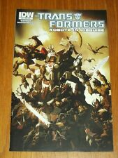 TRANSFORMERS ROBOTS IN DISGUISE #34 IDW COMICS SUB VARIANT OCTOBER 2014 NM (9.4)
