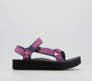 Womens Teva Midform Universal Sandals Raspberry Sorbet Sandals