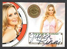 "BENCH WARMER ""VEGAS BABY"" 2012 Autograph Card Signed by JESSICA KINNI"