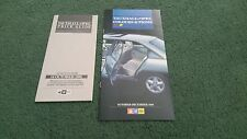 Oct-Dec 1986 VAUXHALL OPEL COLOUR CHART PRICE BROCHURE Nova Astra Cavalier Manta