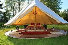 EverTech 4M Outdoor Luxury Canvas Camping Bell Tent Survival Hunting Glamping