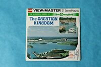 VINTAGE VIEW-MASTER 3D REEL PACKET H20 DINEY'S VACATION KINGDOM FLORIDA COMPLETE