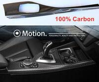 100% echt Carbon Mittelkonsole DEKORLEISTEN passend BMW F20 F21 F22 M2 F87