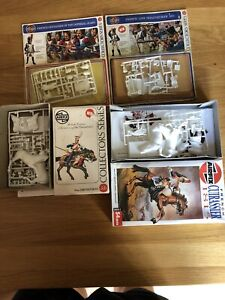 airfix 54mm collectors series. 4 French 1815 Series.