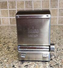 New listing Halco Sanitary Toothpick Dispenser Restaurant Retro Stainless Steel
