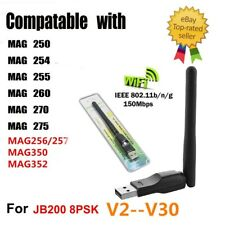 USB WiFi Dongle Adapter For MAG250 MAG254 255 MAG 256 257 MAG350 MAG 352 Jynxbox