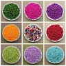 100pcs x 6mm Round Pearl Beads Jewellery Necklace Making Crafts Beads Home DIY
