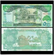 Somaliland 5000 Shillings 2011 (UNC) 全新 索马里兰 5000先令 2011年 (OFFER)