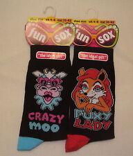 Yes Novelty, Cartoon Unbranded 2-3 Socks for Women