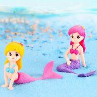Cute Little Mermaid Ornament Fish Tank Aquarium Decoration Accessories 1pc