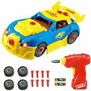 Take Apart Toy Racing Car - Construction Toy Kit For Kids - Build Your Own Car