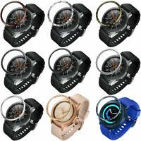 Metall Lünette Ring Anti-Kratz Schutz Case für Samsung Galaxy Watch 42mm/46mm
