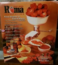 New In Box Weston Products Llc Weston Roma Food & Vegetable Strainer 07-0801