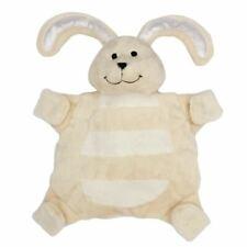 Bunny Rabbit Sleepytot Baby Comforter Toy Soother Dummy Clip Holder Beige Cream