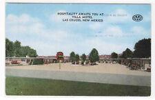 Villa Motel Highway 80 Las Cruces New Mexico postcard
