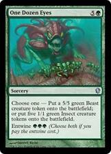 ONE DOZEN EYES Commander 2013 MTG Green Sorcery Beast Insect Unc